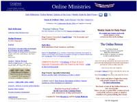 http://onlineministries.creighton.edu/CollaborativeMinistry/online.html