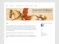 http://www.akademiskridkonst.se