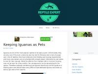 http://www.reptileexpert.co.uk/keepingiguanasaspets.html