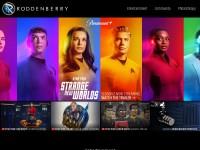 http://www.roddenberry.com/