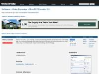 http://www.videohelp.com/tools/Riva_FLV_Encoder