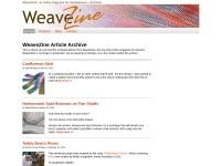 http://www.weavezine.com/
