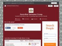 http://australiansurnamesgroup.yuku.com/