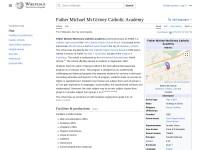 http://en.wikipedia.org/wiki/Father_Michael_McGivney_Catholic_Academy