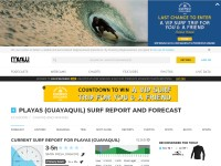 http://magicseaweed.com/Playas-Guayaquil-Surf-Report/688/