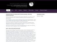 http://mississippiprivateinvestigatorsassociation.webs.com/