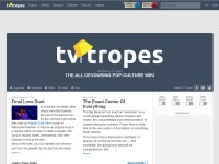 http://tvtropes.org/pmwiki/pmwiki.php/Main/HomePage
