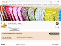 http://www.etsy.com/shop/CrochetPetCollars