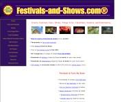 http://www.festivals-and-shows.com