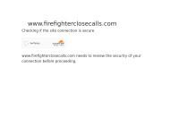http://www.firefighterclosecalls.com