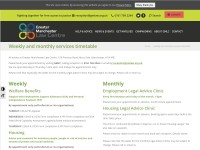 http://www.gmlaw.org.uk/services/weekly-and-monthly-services-timetable/