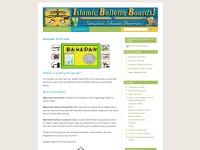 http://www.islamicbulletinboards.wordpress.com/