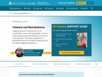 http://www.mesotheliomaguide.com/veterans/