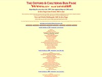 http://www.oxford-chiltern-bus-page.co.uk