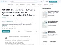 http://www.scribd.com/doc/52460730/DEMETER-observations-of-ELF-waves-injected-with-the-HAARP-HF-transmitter-M-Platino-1-U-S-Inan-1-T-F-Bell-1-M-Parrot-2-and-E-J-Kennedy
