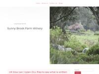 http://www.sunnybrookfarmwinery.com