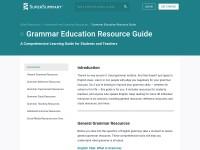 http://www.supersummary.com/grammar-guide/
