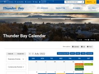http://www.thunderbay.ca/Living/recreation_and_parks/Events/Event_Calendar.htm