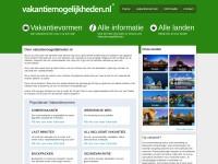 http://www.vakantiemogelijkheden.nl