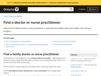 https://www.ontario.ca/page/find-family-doctor-or-nurse-practitioner