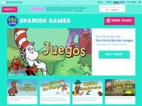 http://pbskids.org/games/spanish/