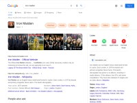 http://www.google.com/search?q=iron+maiden&ie=utf-8&oe=utf-8&aq=t&rls=org.mozilla:en-US:official&client=firefox-a