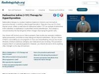 http://www.radiologyinfo.org/en/info.cfm?pg=radioiodine