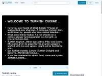 http://www.slideshare.net/catalsalih/turkish-cuisine-26949203