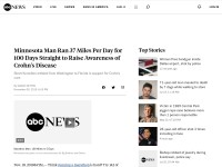 http://abcnews.go.com/Health/minnesota-man-runs-37-miles-day-100-days/story?id=12099013&page=3