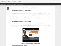 http://australianinsurancecompanies.blogspot.com