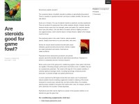http://blakliz.wordpress.com/2013/12/07/are-steroids-good-for-game-fowl/