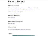 http://dereksivers.org