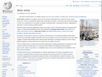 http://en.wikipedia.org/wiki/Direct_action#Nonviolent_direct_action