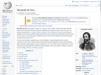 http://en.wikipedia.org/wiki/Hernando_de_Soto_(explorer)