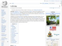 http://en.wikipedia.org/wiki/Lethbridge