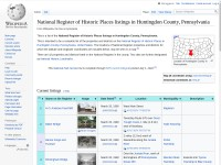 http://en.wikipedia.org/wiki/National_Register_of_Historic_Places_listings_in_Huntingdon_County,_Pennsylvania