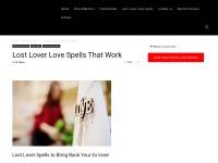 http://lovespell.tips/lost-lover-love-spells-work/