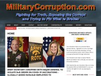 http://militarycorruption.com/home/