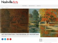 http://nashvillearts.com/2010/01/04/art-restoration-the-reversal-of-misfortune/