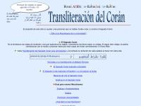 http://transliteration.org/quran/spanish/