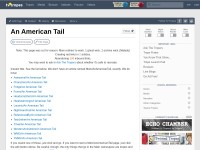 http://tvtropes.org/pmwiki/pmwiki.php/Main/AnAmericanTail