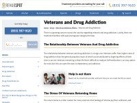 http://www.RehabSpot.com/drugs/who-addiction-affects/Veterans