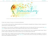 http://www.TerminationsRemembered.com