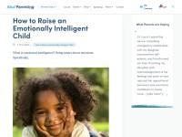 http://www.ahaparenting.com/parenting-tools/raise-great-kids/emotionally-intelligent-child/emotional-intelligence