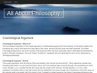 http://www.allaboutphilosophy.org/cosmological-argument.htm