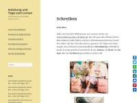 http://www.anleitung-zum-schreiben.de/