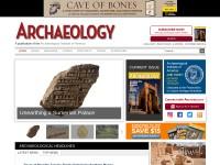 http://www.archaeology.org/