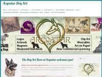http://www.argostar.com/argostar_canine_equine_art.htm