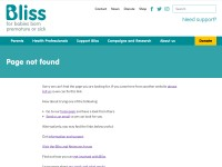 http://www.bliss.org.uk/help-for-families/bereavement/