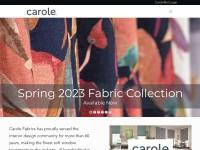 http://www.carolefabrics.com